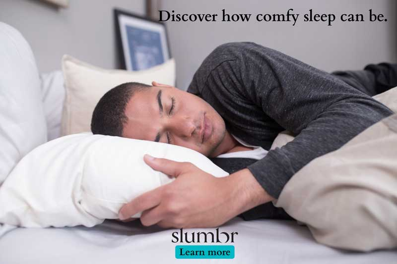 Discover how comfy sleep can be.